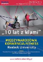 Конвенция в Польше (INTERNATIONAL FITNESS REEBOK UNIVERSITY)